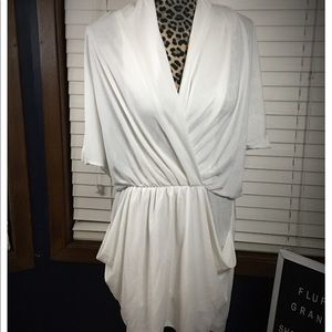 Rachel Roy White Mini Dress Medium
